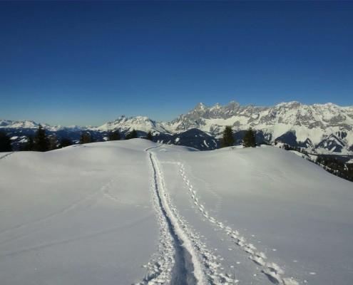 Schneeschuhwandern in Schladming zur Sonnenalm