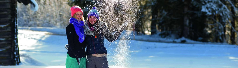 winterwandern in ramsau am dachstein winterausflug schladming winter wandern schneeschuhwandern
