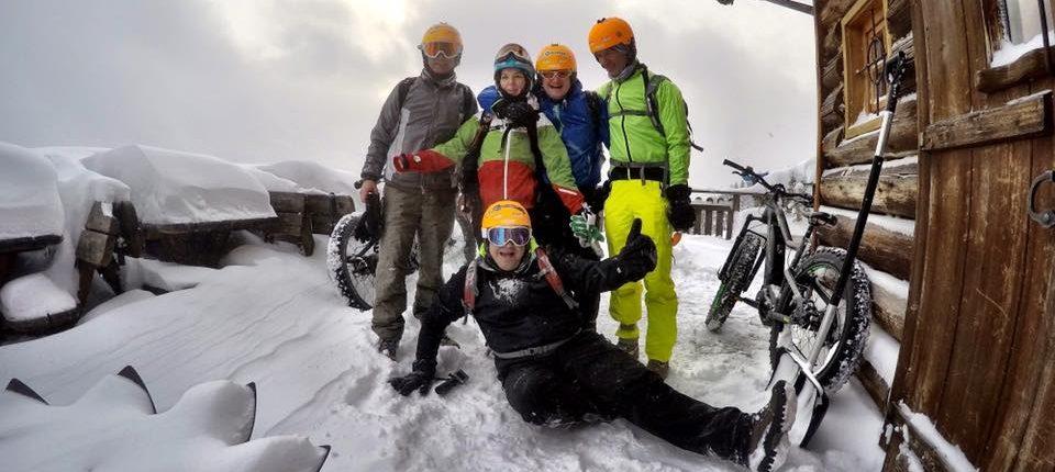 fatbiken winterradfahren im winter mountainbiken