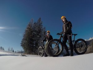 fatbiken schladming dachstein, fatbiketouren fatbike on snow
